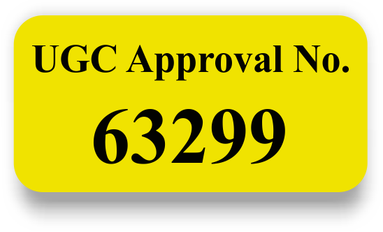 UGC Approval No